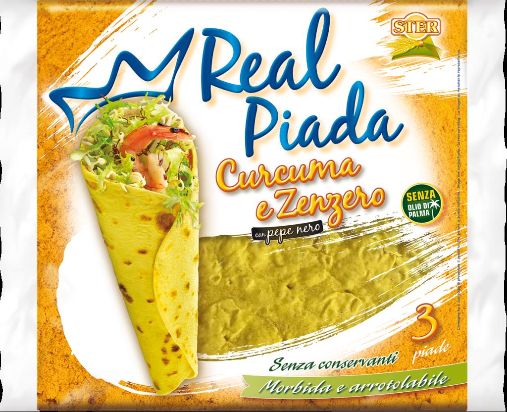 Real Piada Curcuma e Zenzero_packshot